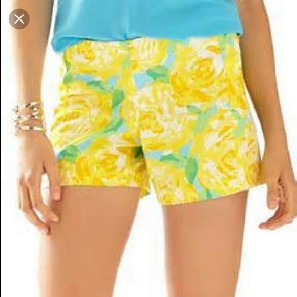 Lilly Pulitzer Pants - 0 Lilly Pulitzer first impression shorts NWT